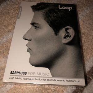 LOOP MUSIC EAR PLUGS SEALED AND NEW
